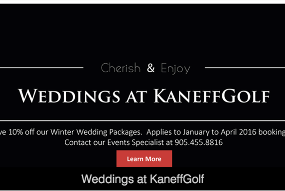 Save on Winter and Spring Weddings