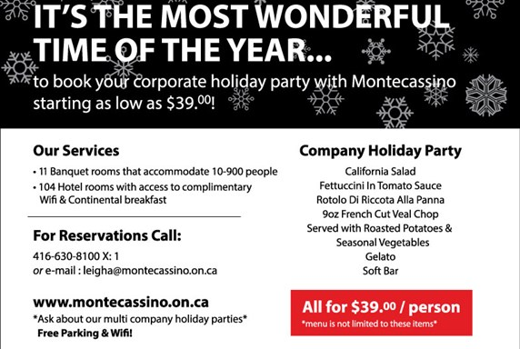 Holiday Corporate Special!