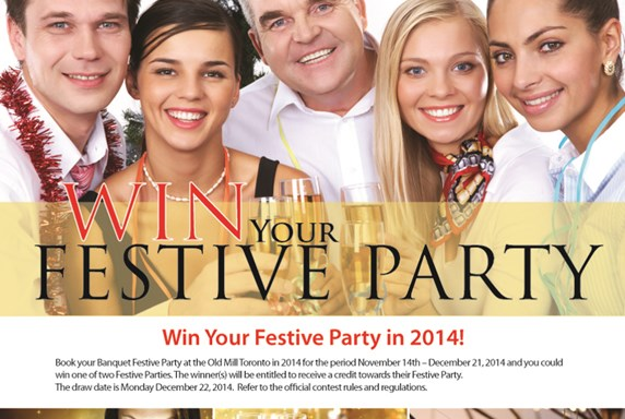 WIN your festive Party