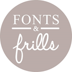 Fonts and Frills Stationery
