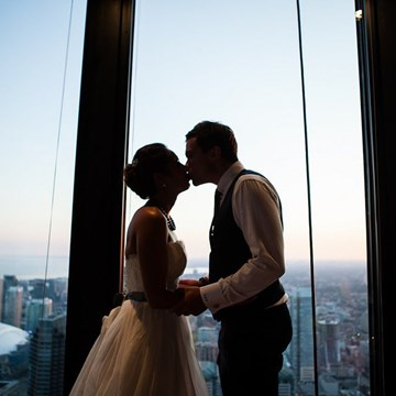 A Love Story High Above The City at TD Bank Tower