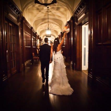 Badgley Mischka featured in Romance At Toronto's Casa Loma