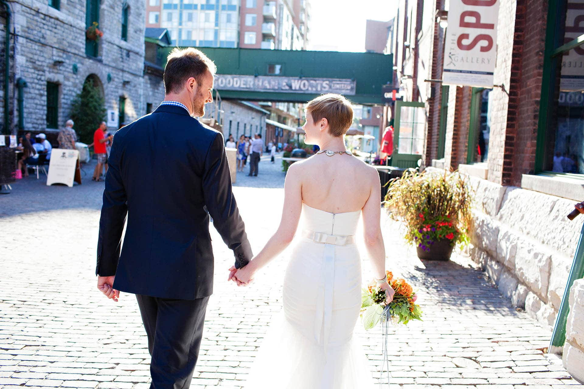 Hero image for Fun and Whimsical Wedding at The Distillery