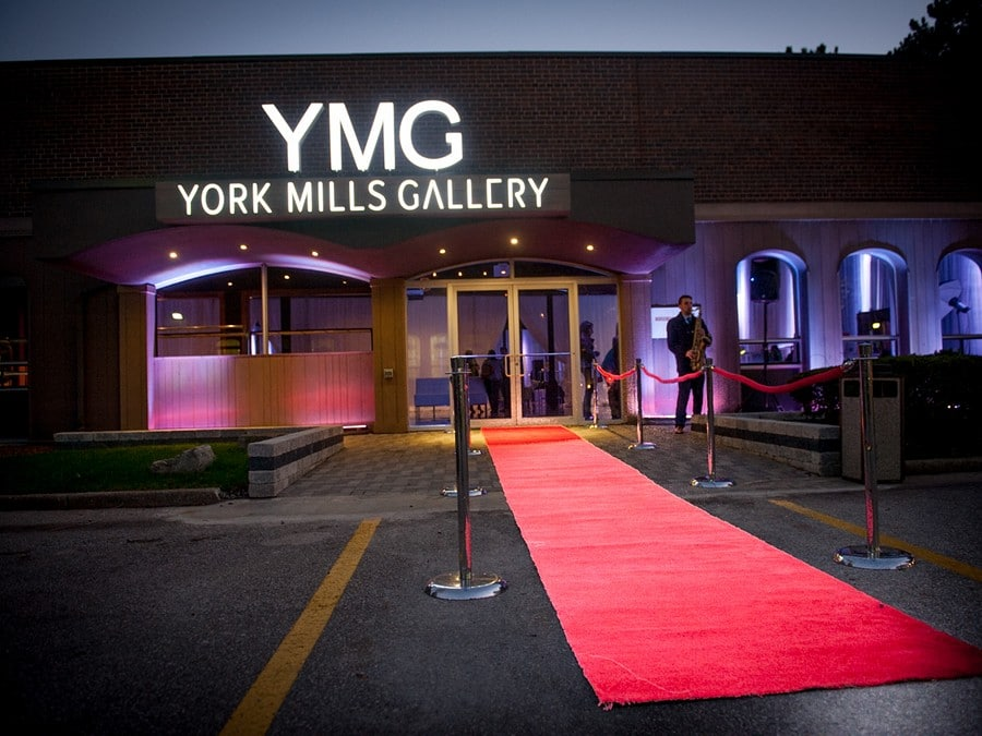 York Mills Gallery Toronto S Hottest New Event Space