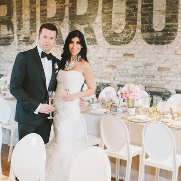 A City Chic Wedding at The Burroughes!
