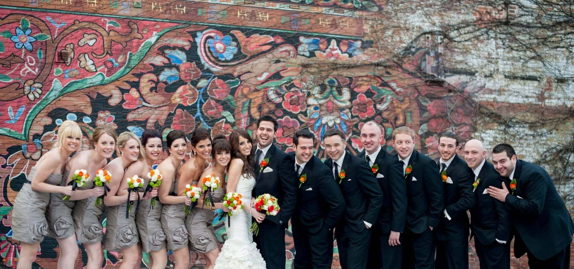 Hero image for Rustic, Modern and Elegant, Steam Whistle Wedding