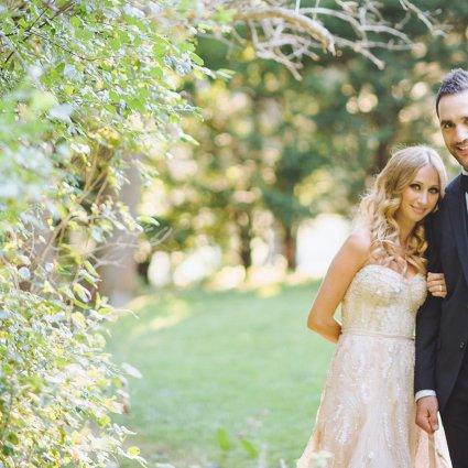 Thumbnail for Nicole & Joey's Elegant Toronto Wedding at Graydon Hall Manor