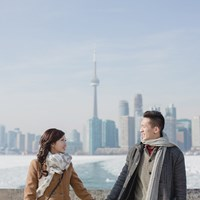 Erika & Eric's Beautiful Winter Engagement Shoot