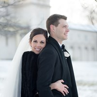 A Gorgeous Winter Wedding from Krista Fox Photography