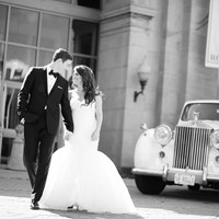 Talia & Jon's Romantic Wedding At Toronto's Liberty Grand