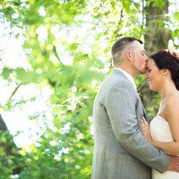 Highschool Sweethearts Tie The Knot At Nestleton Waters Inn