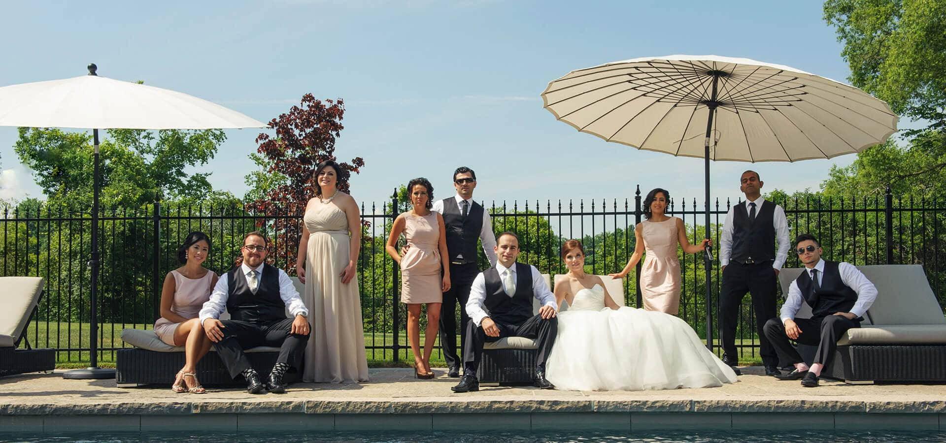 Hero image for Elizabeth & Bill's Elegant Wedding at Crystal Fountain