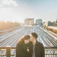 Rose and Renown's Toronto Inspired Engagement Session