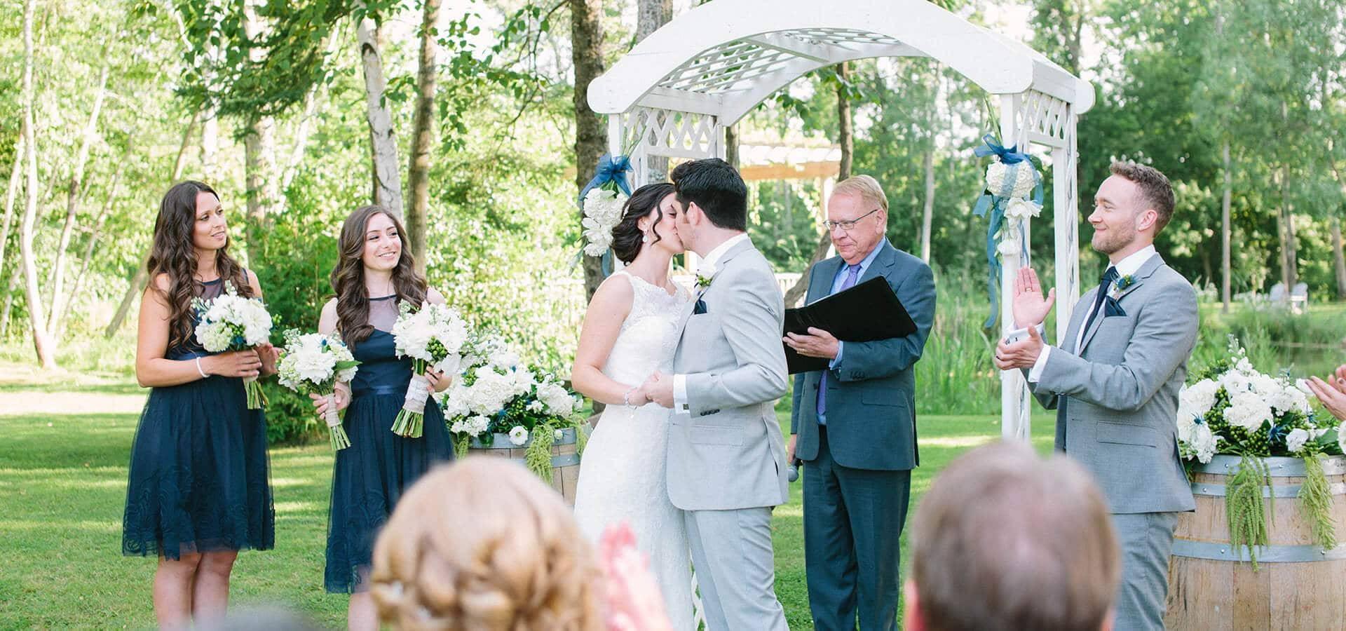 Hero image for Sabrina and Michael's Beautiful Holland Marsh Winery Wedding!