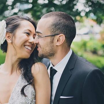 Karen & Ben's Luxe Wedding at Malaparte