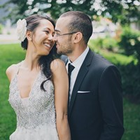 Karen & Ben's Luxe Wedding at Malaparte