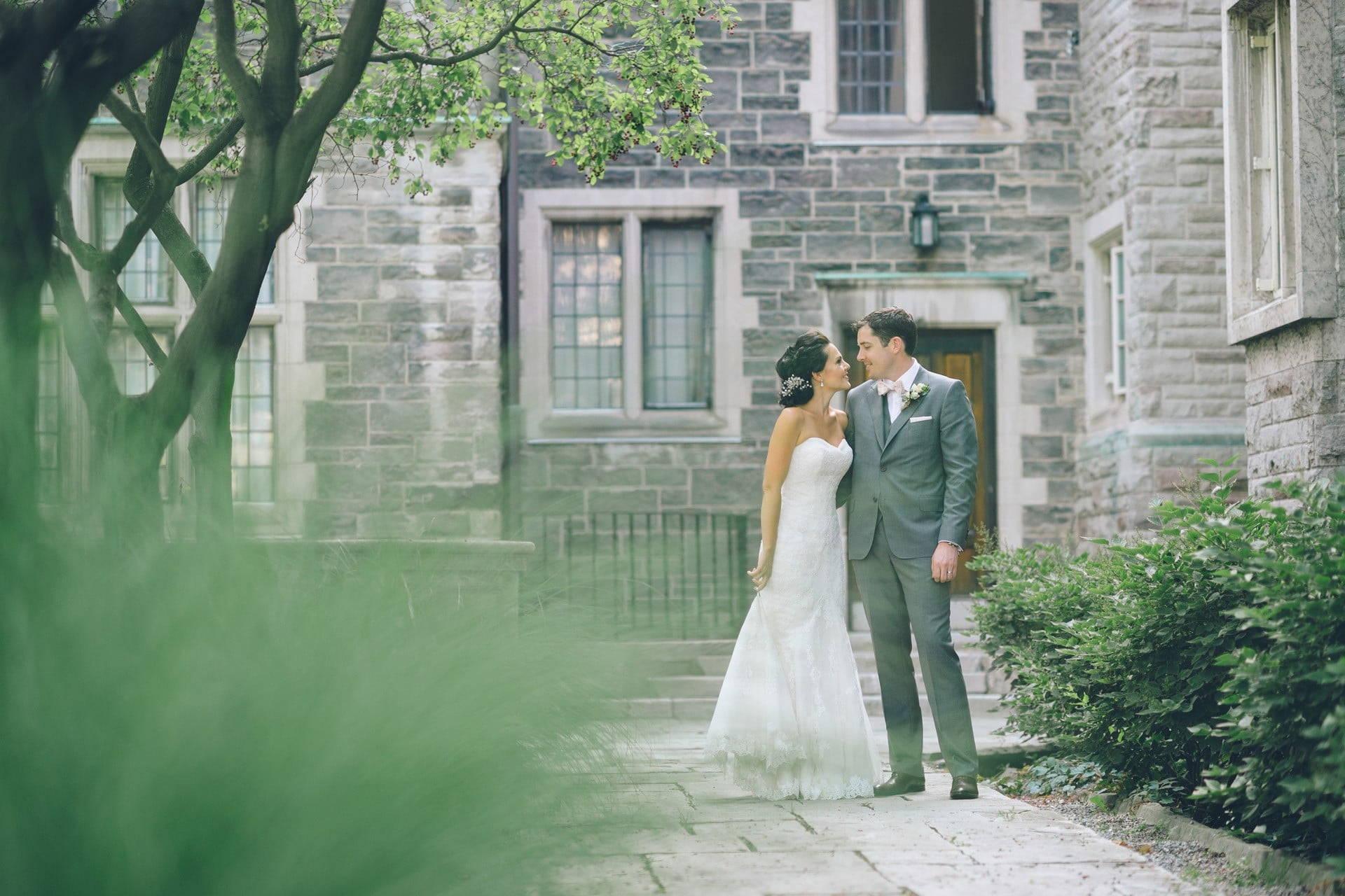 Hero image for Danielle and Allen's Beautiful Brickworks Wedding
