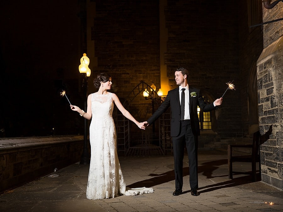 Hero image for Meaghan & Adam's Winter Wedding At Hart House