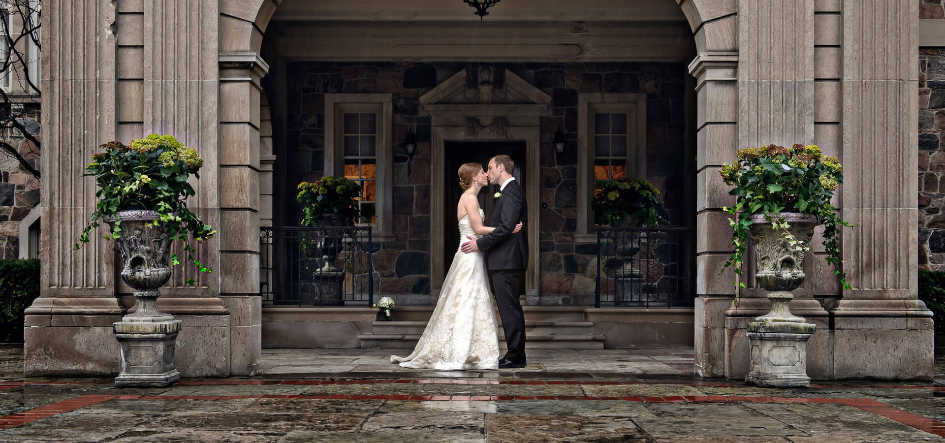 Hero image for Cheyne & Greg Intimate Wedding At Graydon Hall