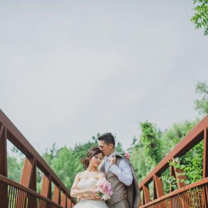 Thumbnail for Erika & Eric's Beautiful Summer Wedding At Miller Lash House