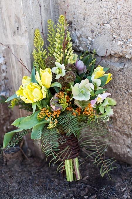stylized bridal shoot artscape wychwood barns, 9