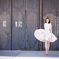 Stylized Bridal Shoot at Artscape Wychwood Barns