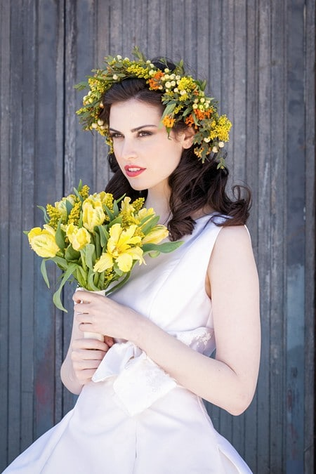 stylized bridal shoot artscape wychwood barns, 18