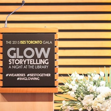 ISES Gala: GLOW Storytelling - A Night at the Library