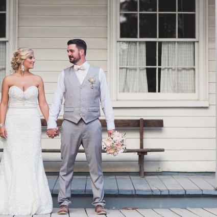Jennifer van Son Photography featured in Shannon & Danny's Romantic Vintage Wedding at Black Creek Pio…