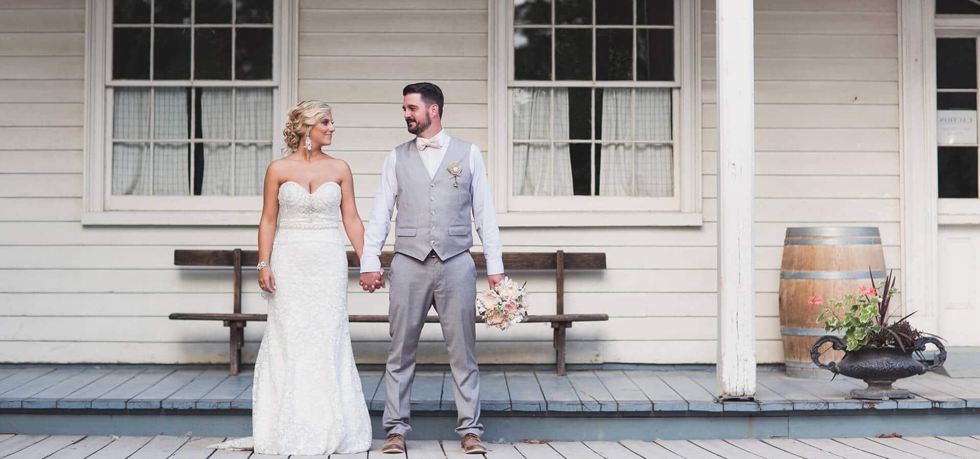 Hero image for Shannon & Danny's Romantic Vintage Wedding at Black Creek Pioneer Village