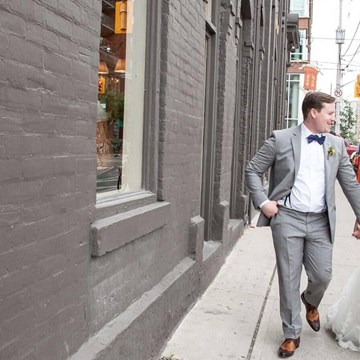 Ada & David's Downtown Toronto Wedding