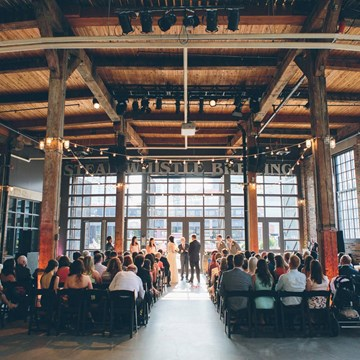 A Summer Wedding at Steam Whistle Brewery