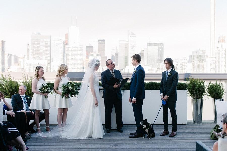 Downtown Toronto Wedding At Thompson Hotel
