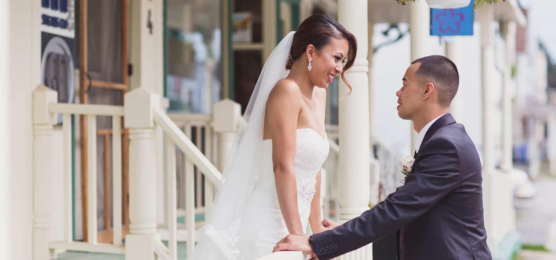 Hero image for Megan & Carlo's Fresh Summer Wedding at The Manor