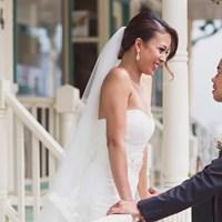 Megan & Carlo's Fresh Summer Wedding at The Manor
