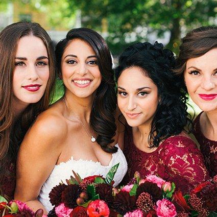 Beet & Path featured in Dian & Mark's Glamorous Berkeley Fieldhouse Wedding