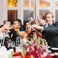 Dian & Mark's Glamorous Berkeley Fieldhouse Wedding