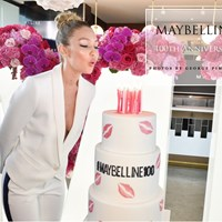 Maybelline NY 100th Anniversary in Toronto with Special Guest Supermodel Gigi Hadid