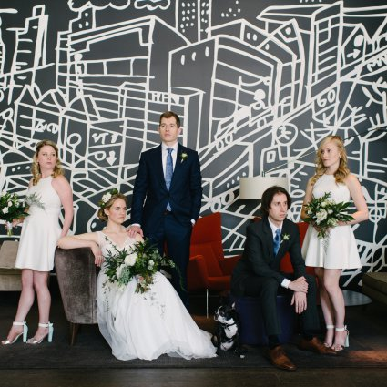 Thumbnail for Jessica & Brock's Downtown Toronto Wedding at Thompson Hotel