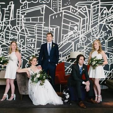 Jessica & Brock's Downtown Toronto Wedding at Thompson Hotel