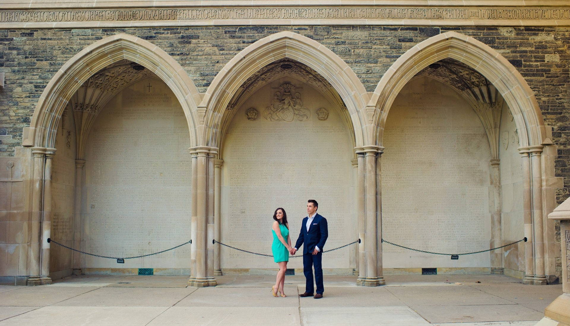 Hero image for Jessica & Norbert's Engagement Session at Hart House