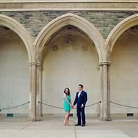 Jessica & Norbert's Engagement Session at Hart House