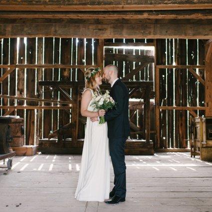 Blackcreek Eventspace featured in Melissa and Egan's Wedding at Black Creek Pioneer Village