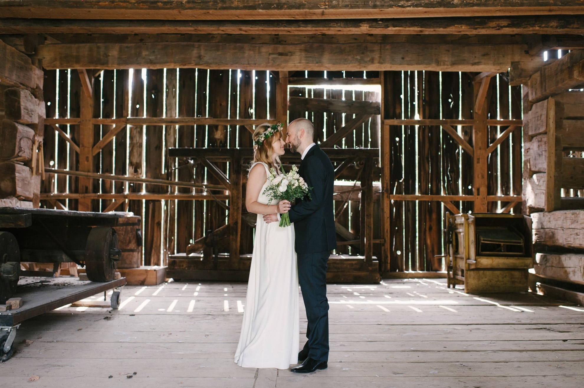 Hero image for Melissa and Egan's Wedding at Black Creek Pioneer Village