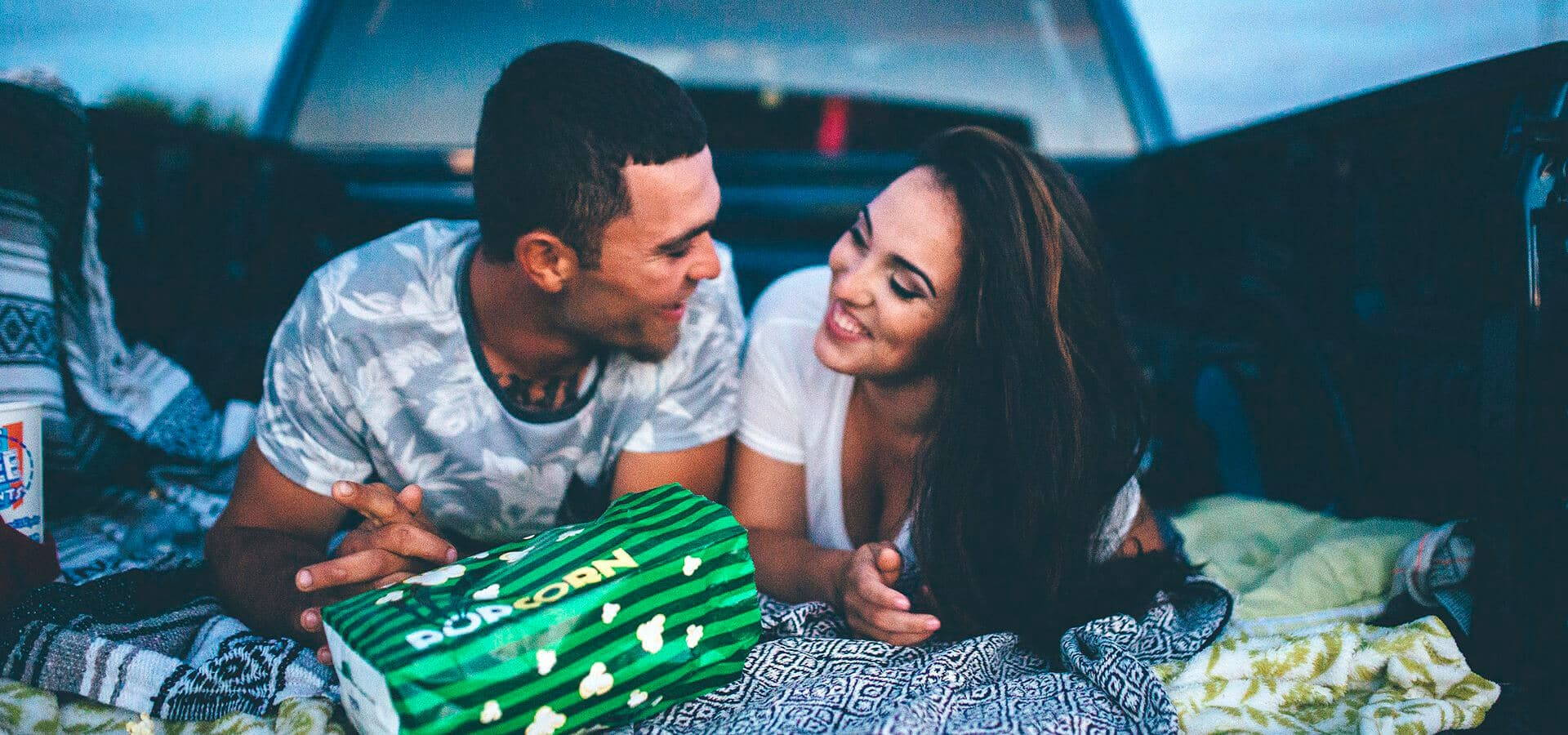 Hero image for Samantha & Jorge's Romantic Drive-In Engagement Session