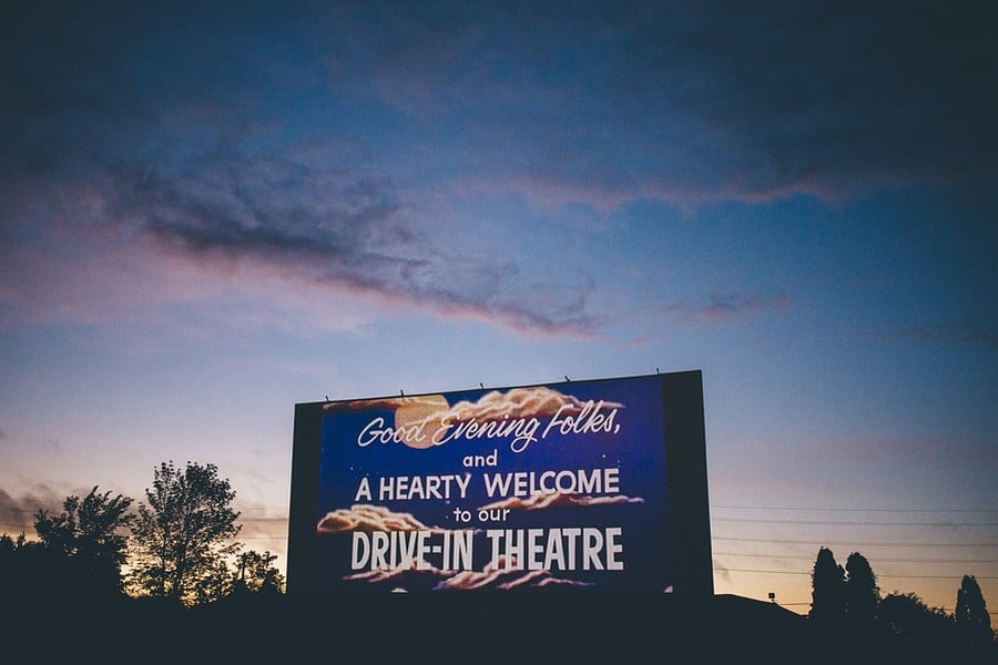 Drive-In Engagement