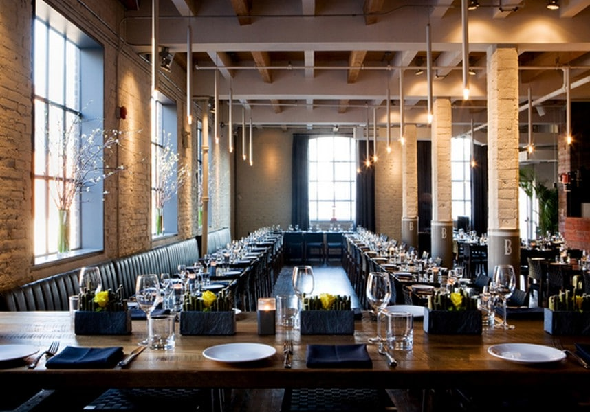 Toronto restaurants for your upcoming office holiday party
