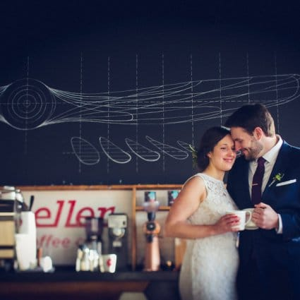 "Propeller Coffee Co. featured in 10 of Toronto / GTA's Most Unique ""Hidden Gem"" Wedding And Ev…"