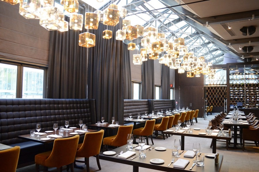 17 toronto restaurants for your upcoming office holiday party for Best private dining rooms downtown toronto