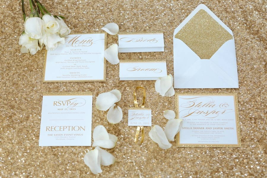 Gold Rush Styled Shoot with Glamour Inspiration! 0